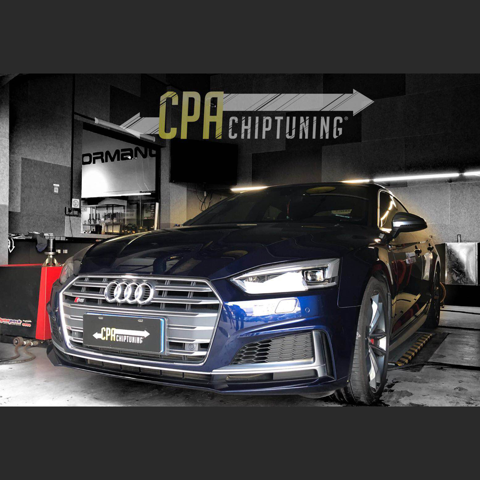 Chiptuning Audi: S5 mit CPA Power