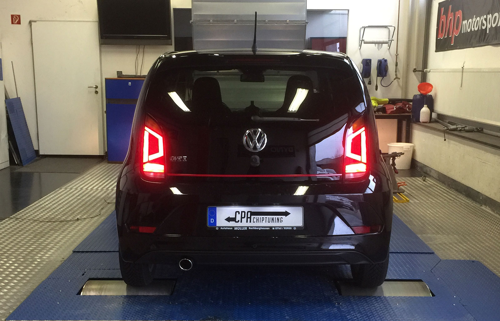 Chiptuning im VW UP GTI